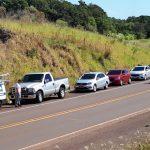 Vídeo –  Carreata chama atenção para preço alto da gasolina nos postos de Três Passos