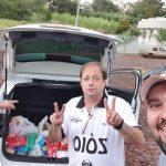 Grupo de amigos recolhe alimentos para famílias carentes em Três Passos