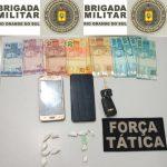 Bom-progressenses são presos por tráfico de drogas em Três Passos