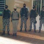 Policiamento reforça segurança em sessão da Câmara de Vereadores em Bom Progresso
