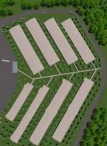 Vídeo – Projeto 3D da Unidade Multiplicadora de Genética Suína em Esperança do Sul