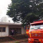 Vídeo – Incêndio atinge residência no centro da cidade de Três Passos