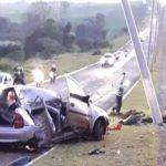 Vídeo – Ladrões colidem carro após assalto e um morre no Noroeste do RS