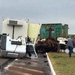 Morador de Campo Novo morre no hospital após acidente no trevo da BR-468