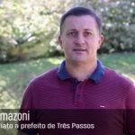 Vereador Arlei Tomazoni apresenta pré-candidatura a prefeito de Três Passos