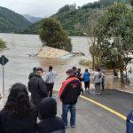 Vídeo – Casa é levada pela água no interior do RS