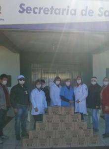 Tiradentes do Sul recebe doação da empresa R2M de Chapecó – SC