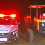 Após reportagem do Três Passos News, polícia localiza trator em Tiradentes do Sul