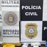 Dupla é presa por tráfico de drogas na BR-468, em Três Passos