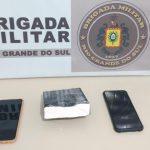 Jovem de 25 anos é preso com cocaína na RSC-472, em Três Passos