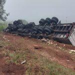 Motorista morre em acidente entre Tenente Portela e Três Passos, na RSC-472