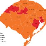 Três Passos e mais 11 cidades da Região Celeiro retornam à bandeira laranja