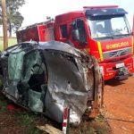 Jovem perde a vida em acidente na ERS-155, entre Santo Augusto e Ijuí