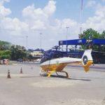 Helicópteros auxiliam nas buscas a criminosos que escaparam de cerco policial no Noroeste do RS
