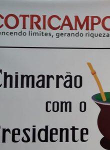 Chimarrão com o presidente: Gelson Bridi fala sobre melhorias em unidades