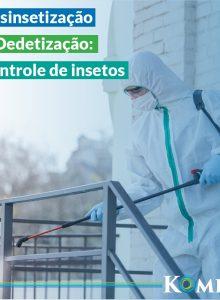 Kombat atua no controle preventivo de pragas e fornece comprovante de execução de serviço