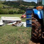 Criança de nove anos morre em acidente com máquina agrícola