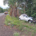Acidente com vítima fatal na BR-472, entre Santa Rosa e Santo Cristo