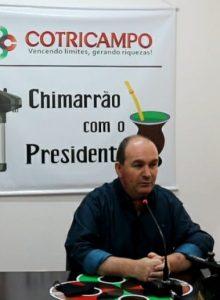 Chimarrão com o Presidente: Gelson Bridi fala sobre a assembleia virtual que o reconduziu ao cargo por mais três anos