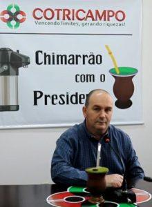 Chimarrão com o Presidente: Gelson Bridi fala sobre a safra de soja e benefícios para o produtor