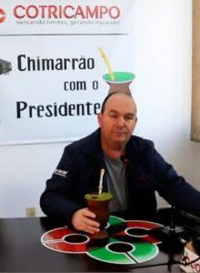 Chimarrão com o Presidente: Gelson Bridi fala sobre os resultados da Campanha Promocional alusiva ao aniversário da Cotricampo