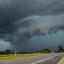 Frente quente vai trazer chuva forte e temporais ao Rio Grande do Sul